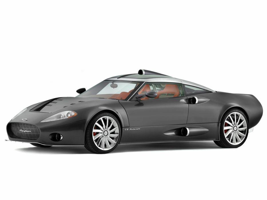 2008 Spyker C8 Aileron supercar wallpaper
