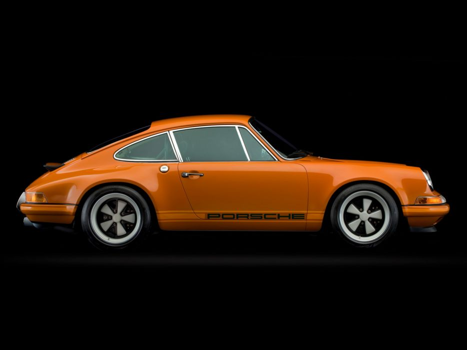 2009 Singer Porsche 911 Concept supercar  d wallpaper