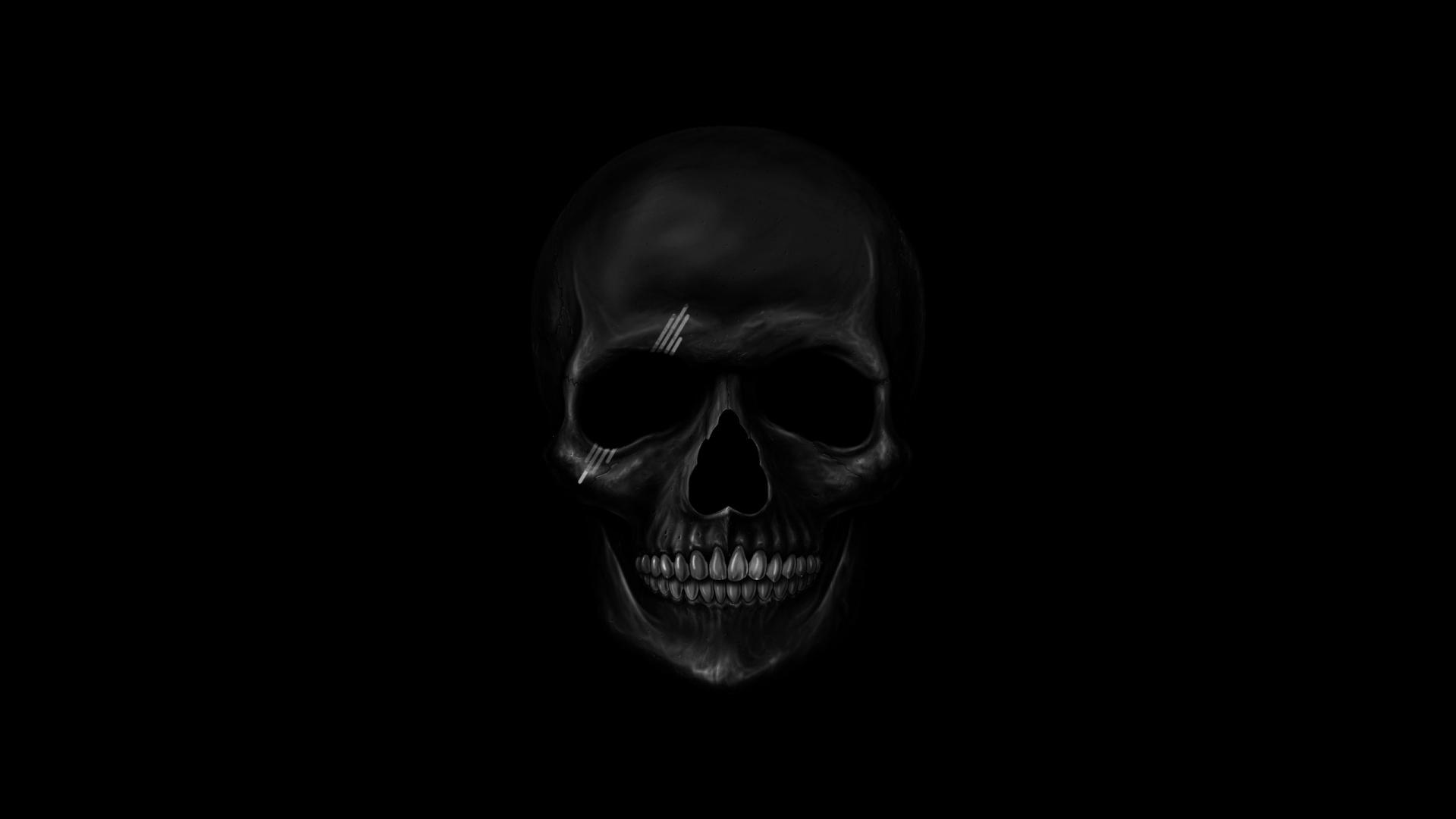 Dark Skull Wallpaper  1920x1080 135684 WallpaperUP