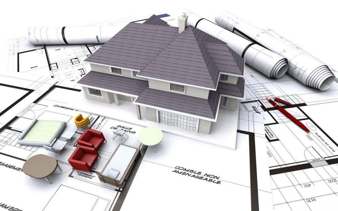 3D Architecture PC CAD wallpaper