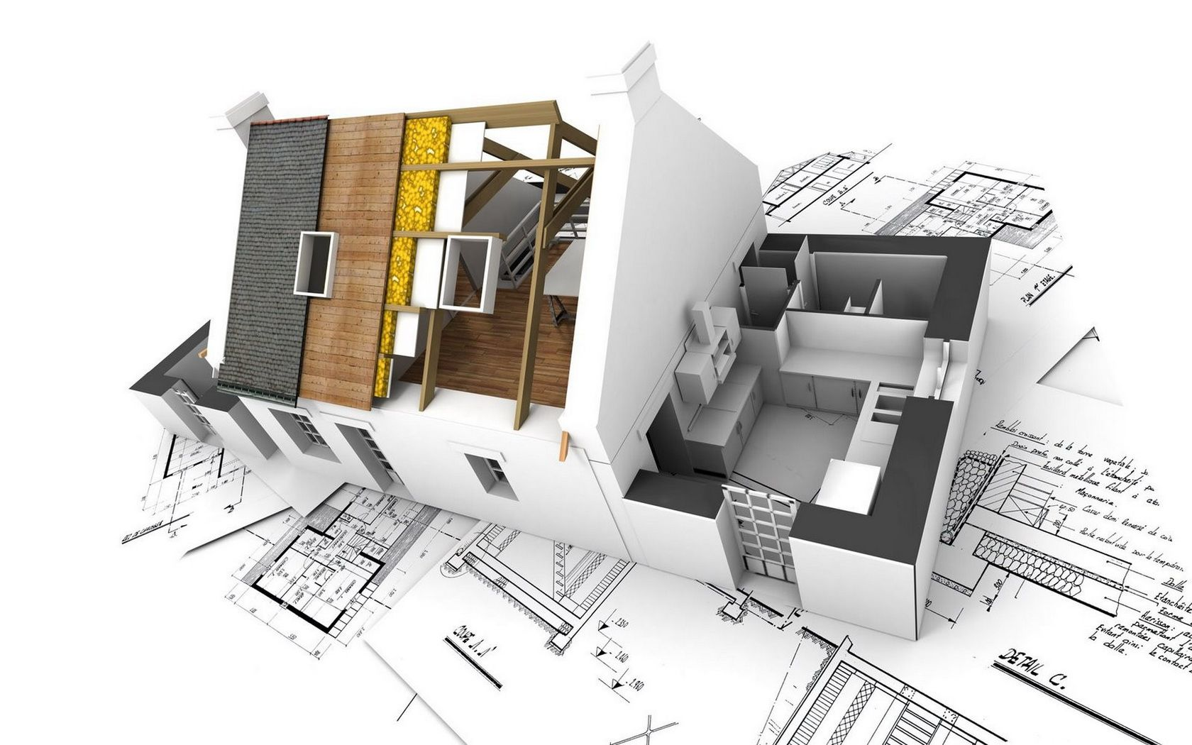 Attrayant 3D Architecture PC CAD Wallpaper