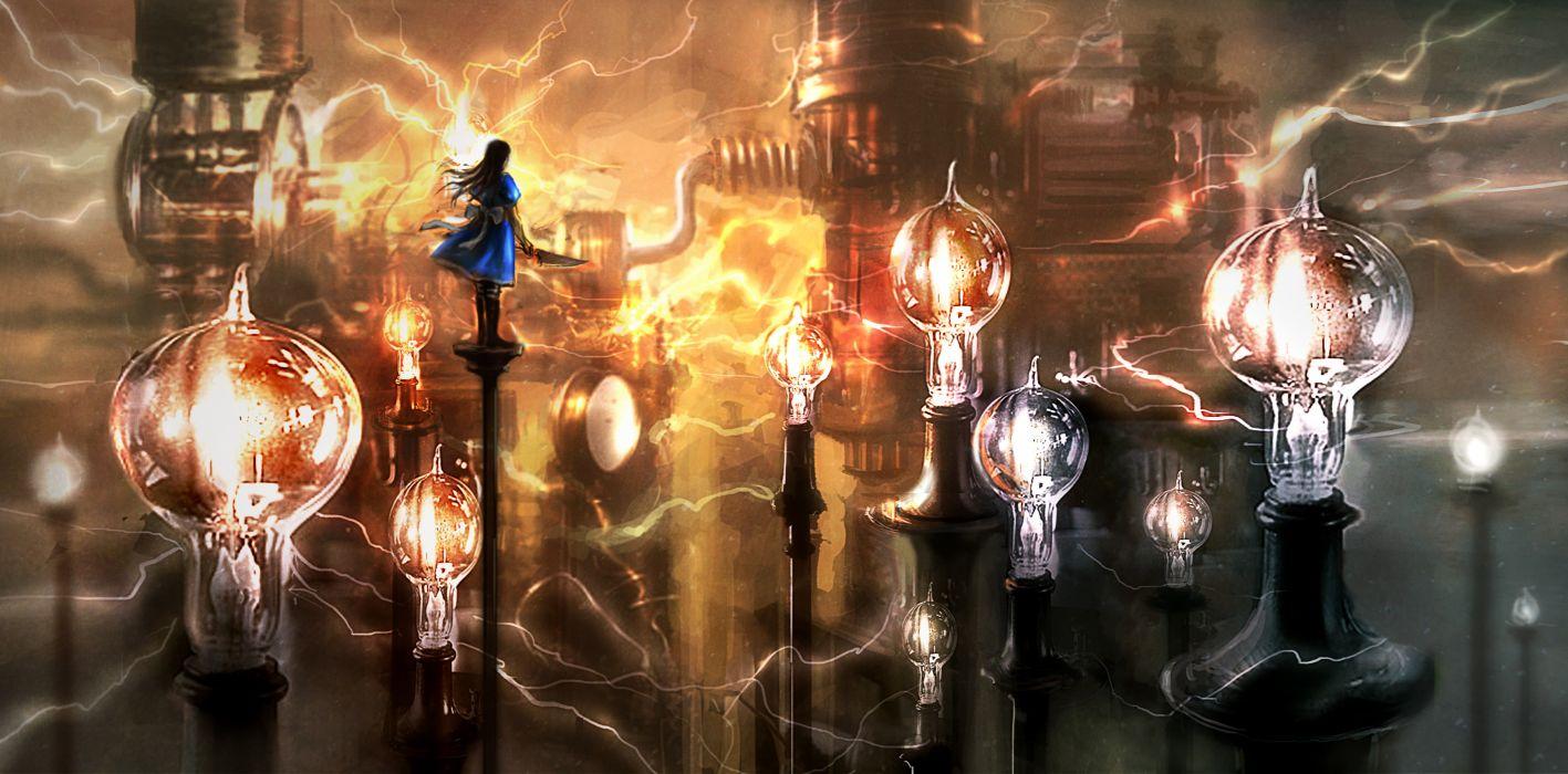 Alice in Wonderland American McGe's Alice wallpaper