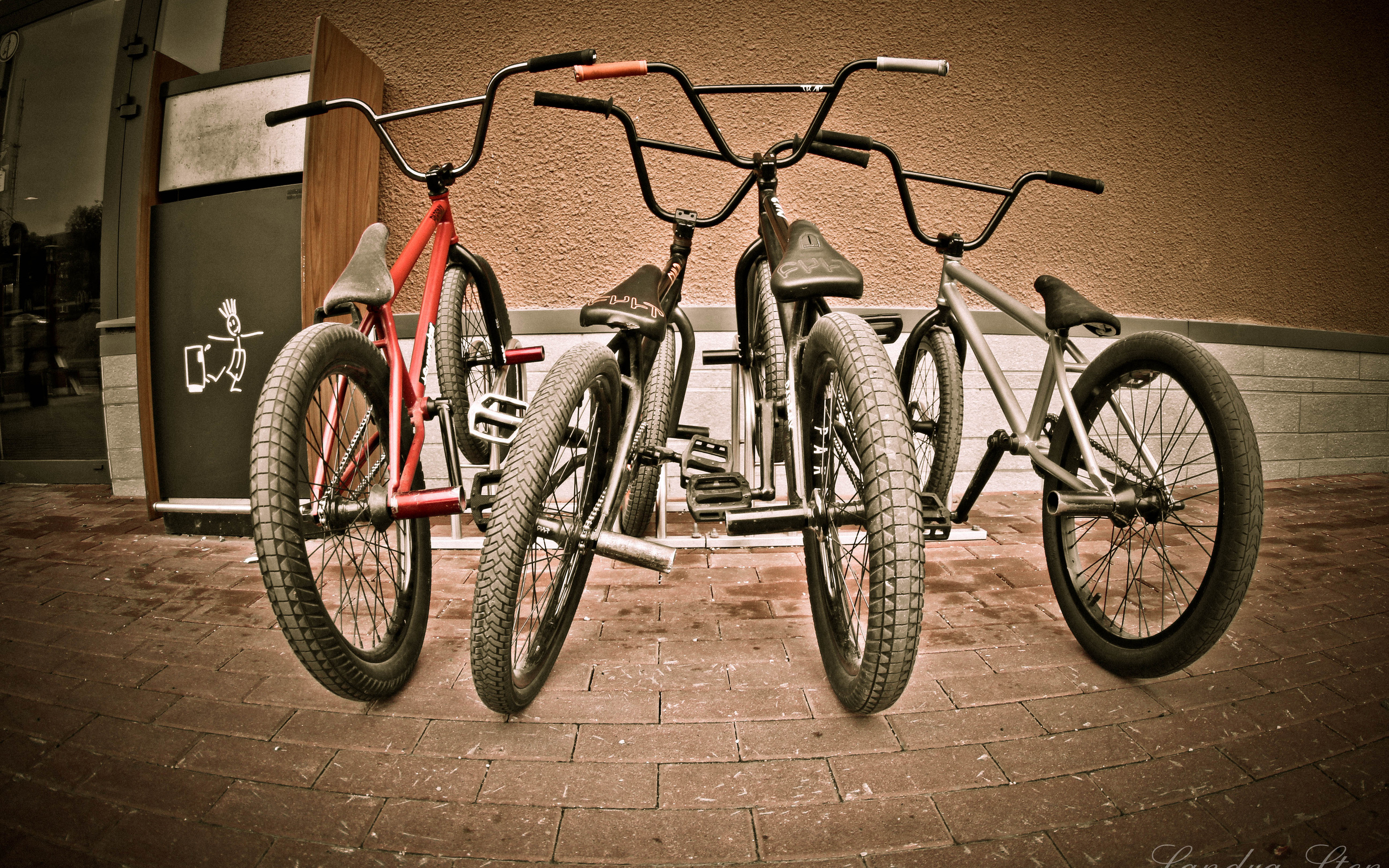 bmx and girl wallpaper - photo #2
