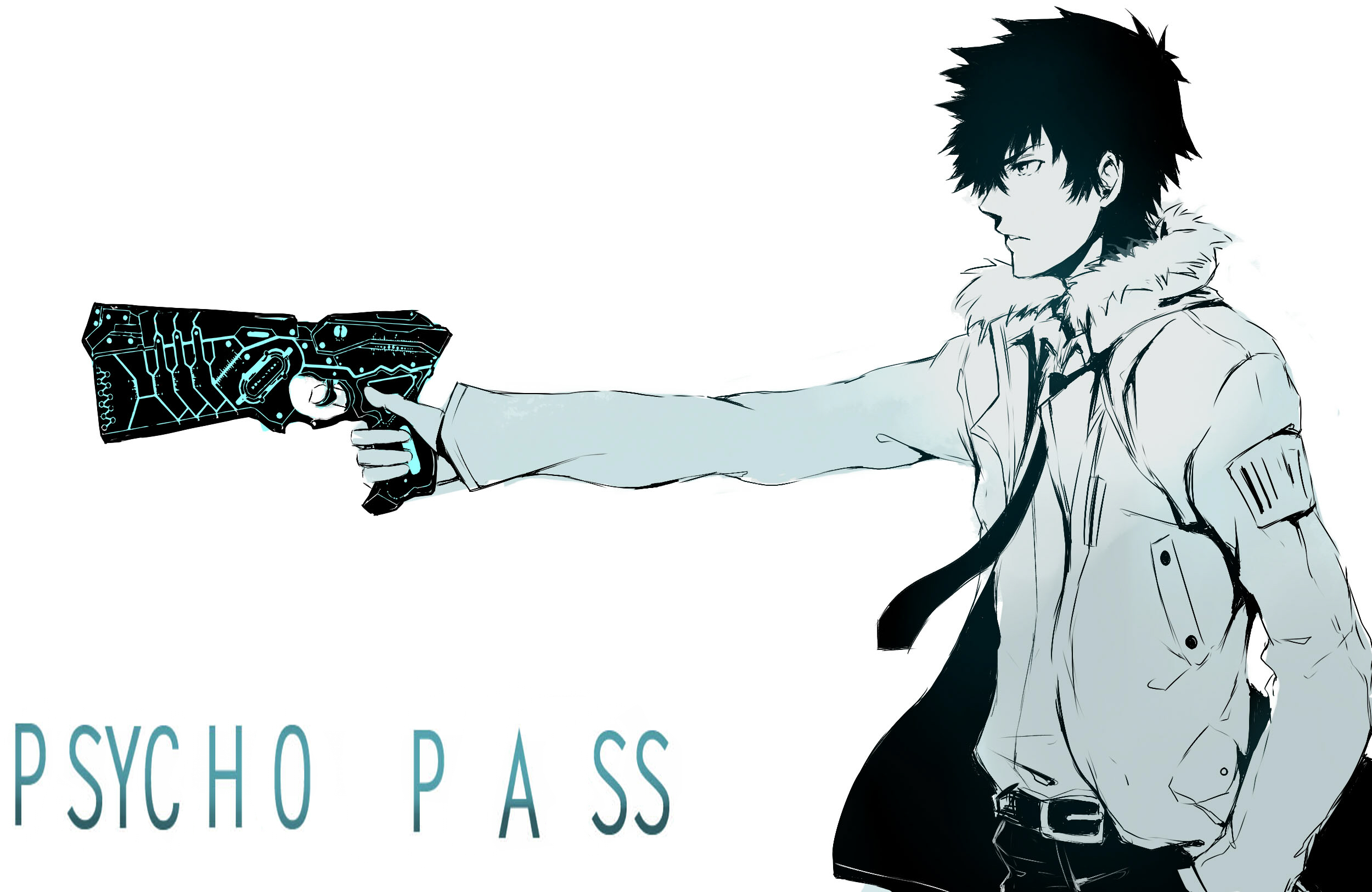 Psycho Pass Kougami Shinya Wallpaper 2500x1625 136050 Wallpaperup