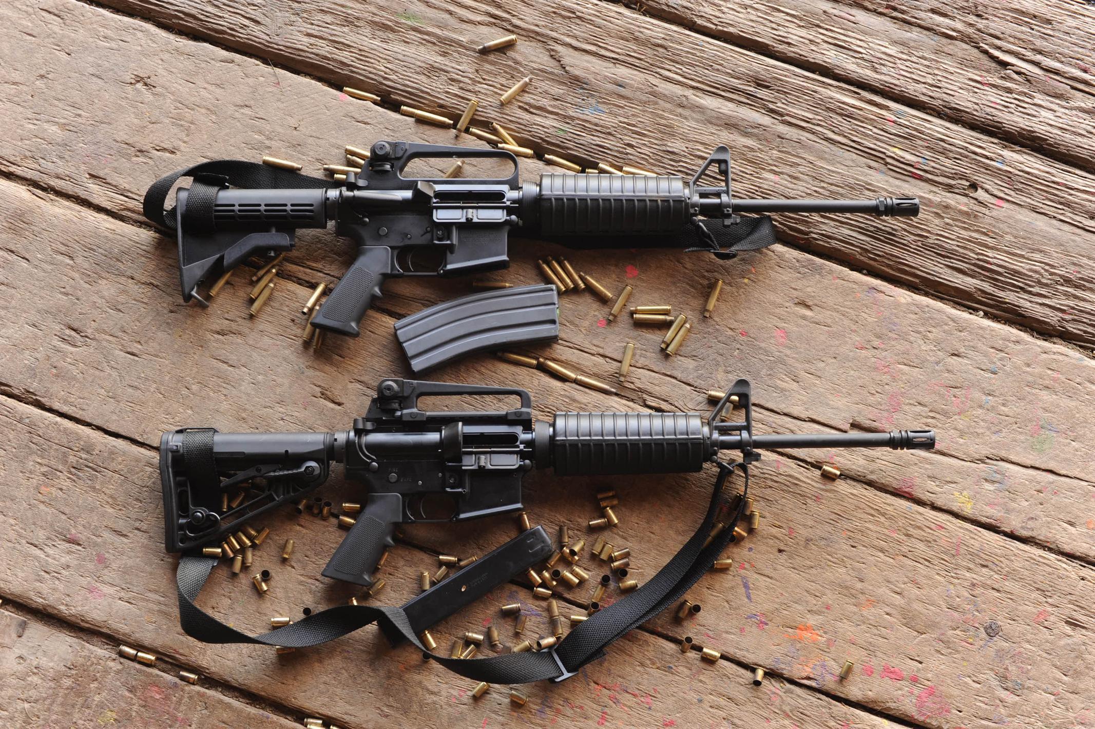 M4a1 assault rifle weapon gun military wallpaper ...