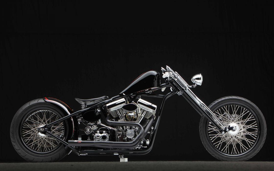 motorcycle bike motorbike chopper custom wallpaper