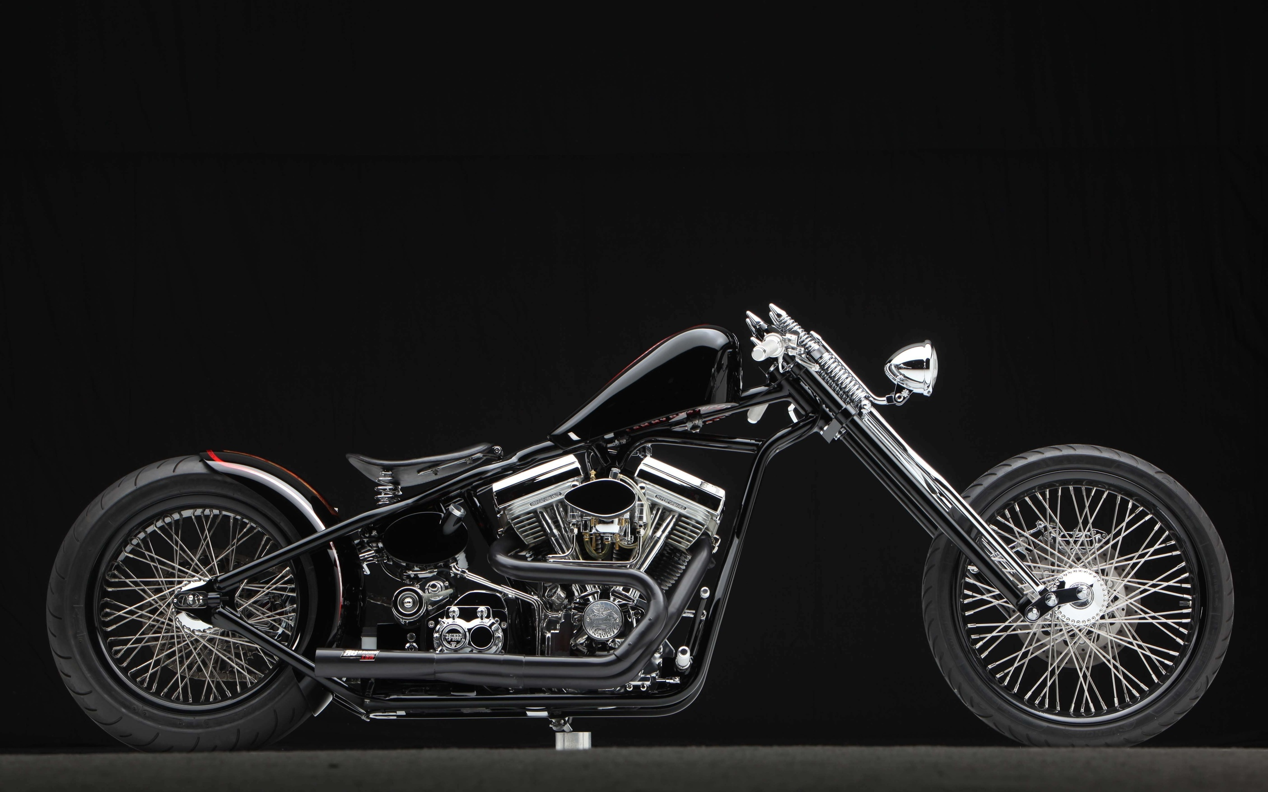 Motorcycle bike motorbike chopper custom wallpaper ...