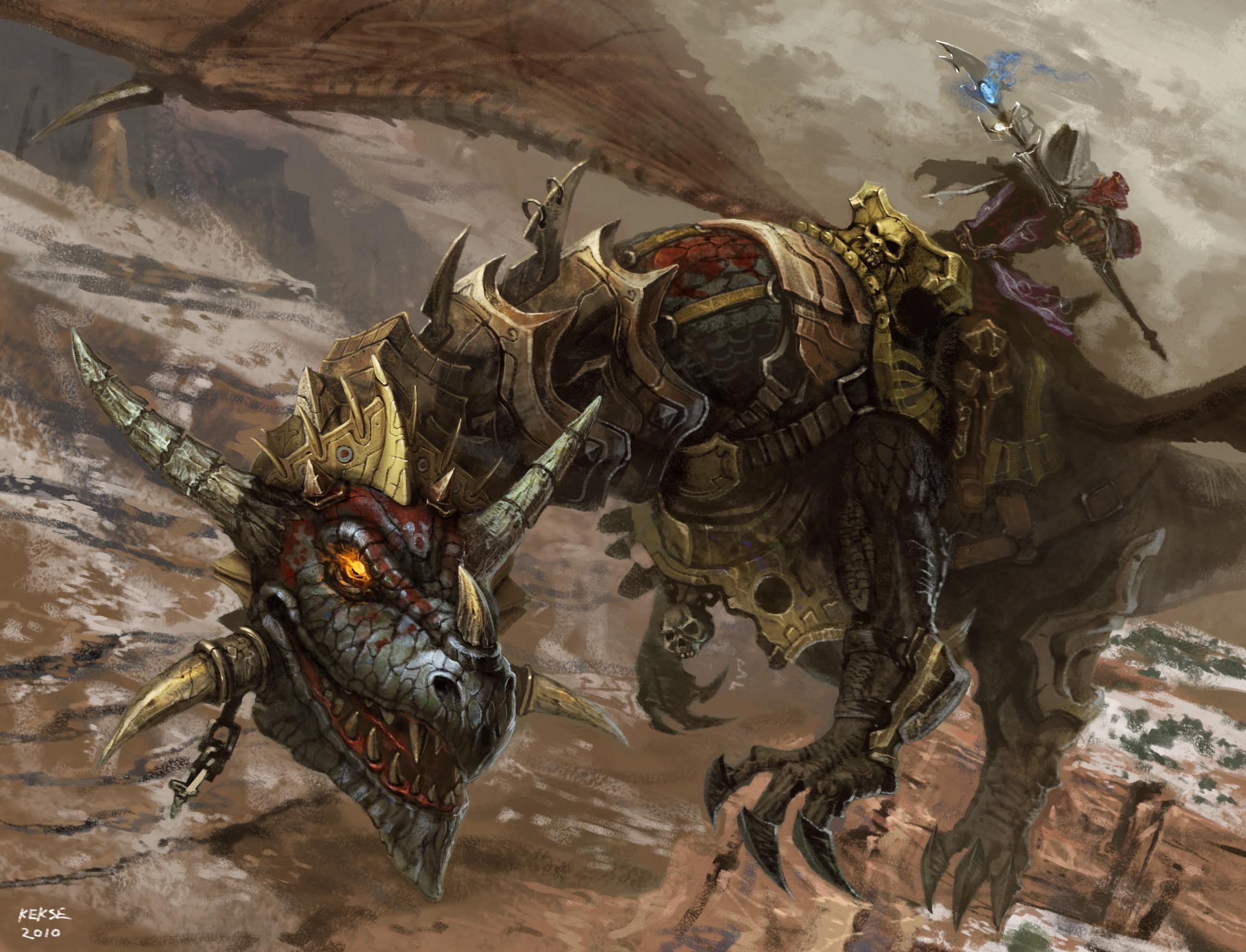 Armored Dragon Wallpaper Dragon Armor Horns Warrior
