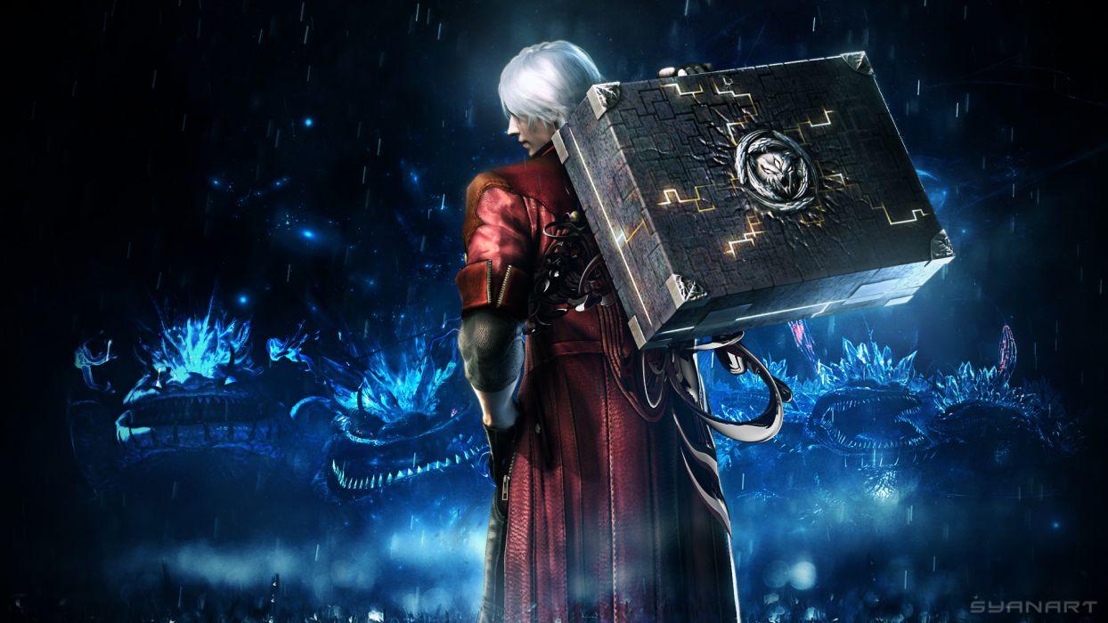 Devil May Cry 4 Men Dante Games fantasy wallpaper