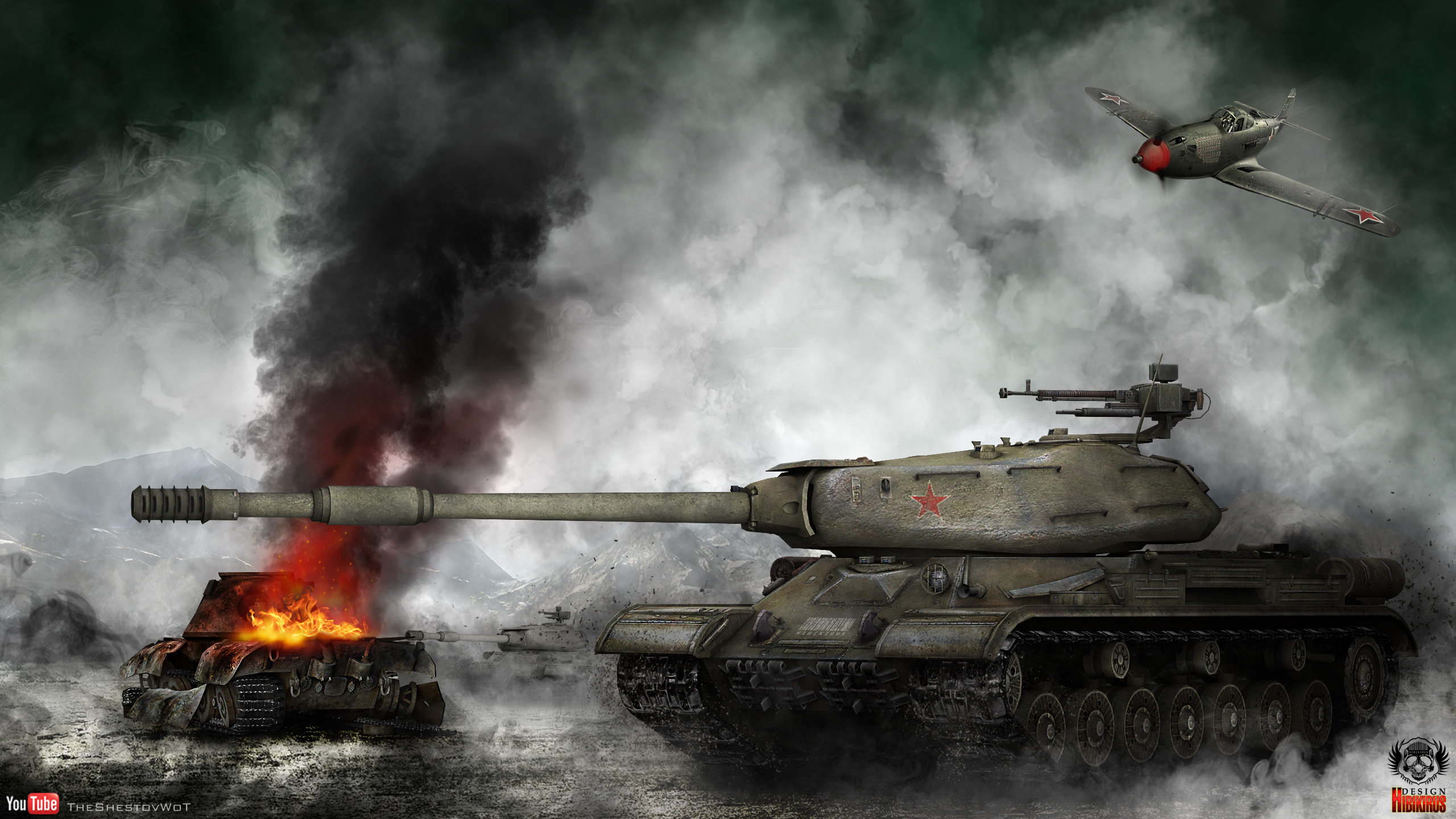 World of Tanks ... Battle Tanks Wallpaper