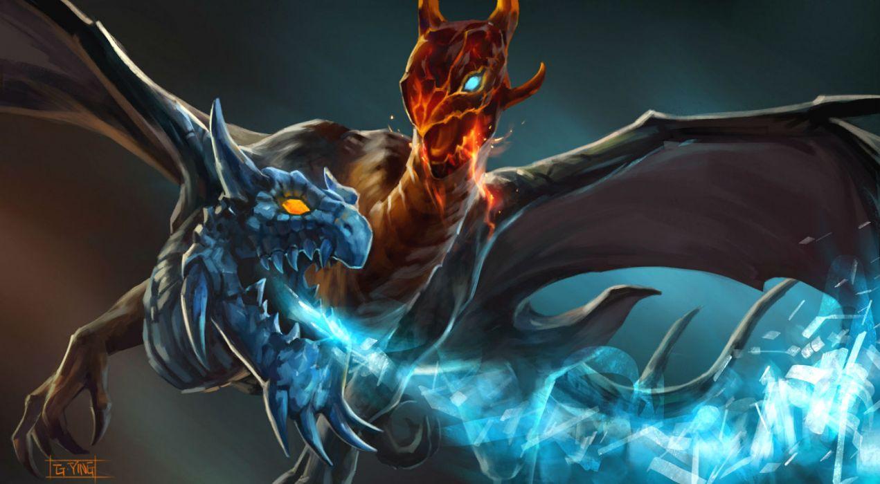 Dota 2 Fantasy Dragon G Wallpaper 1671x920 136397 Wallpaperup