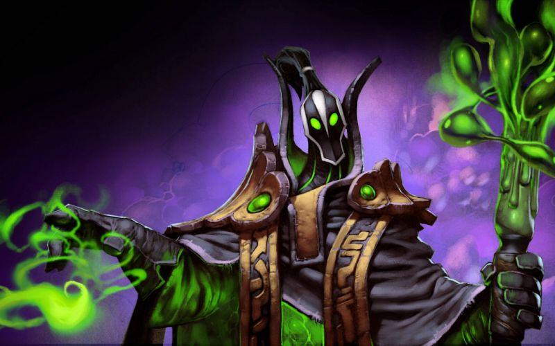 Dota 2 fantasy warrior magic f wallpaper