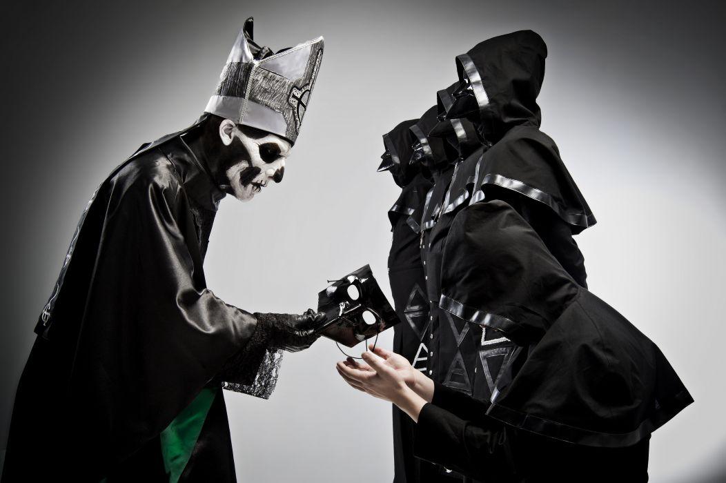 Ghost B_C heavy metal black death dark wallpaper