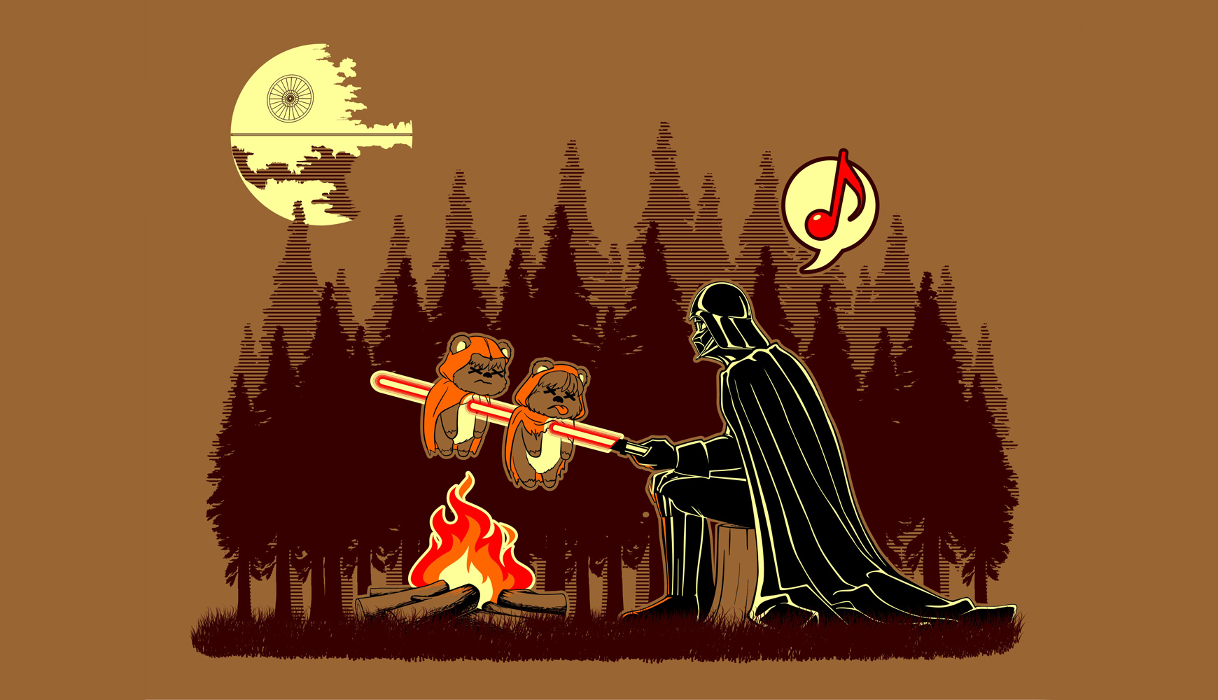 Funny Star Wars Backgrounds Star Wars Sadic Funny Fire