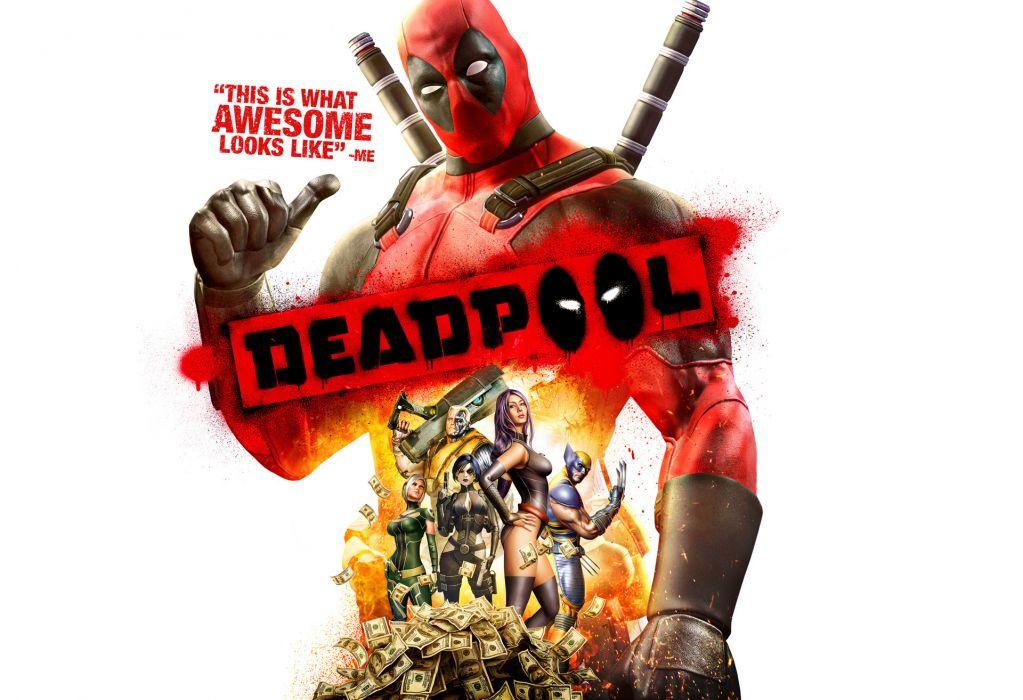 Heroes comics Deadpool hero Warrior superhero funny wallpaper