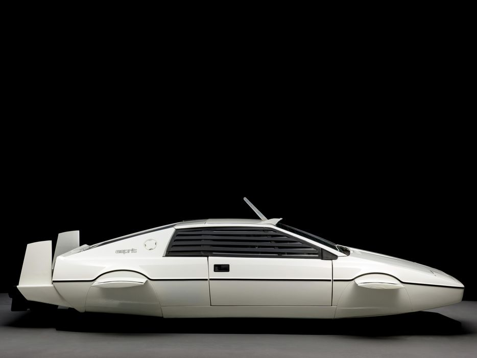 1977 Lotus Esprit James Bond 007 concept supercar custom movie hd wallpaper