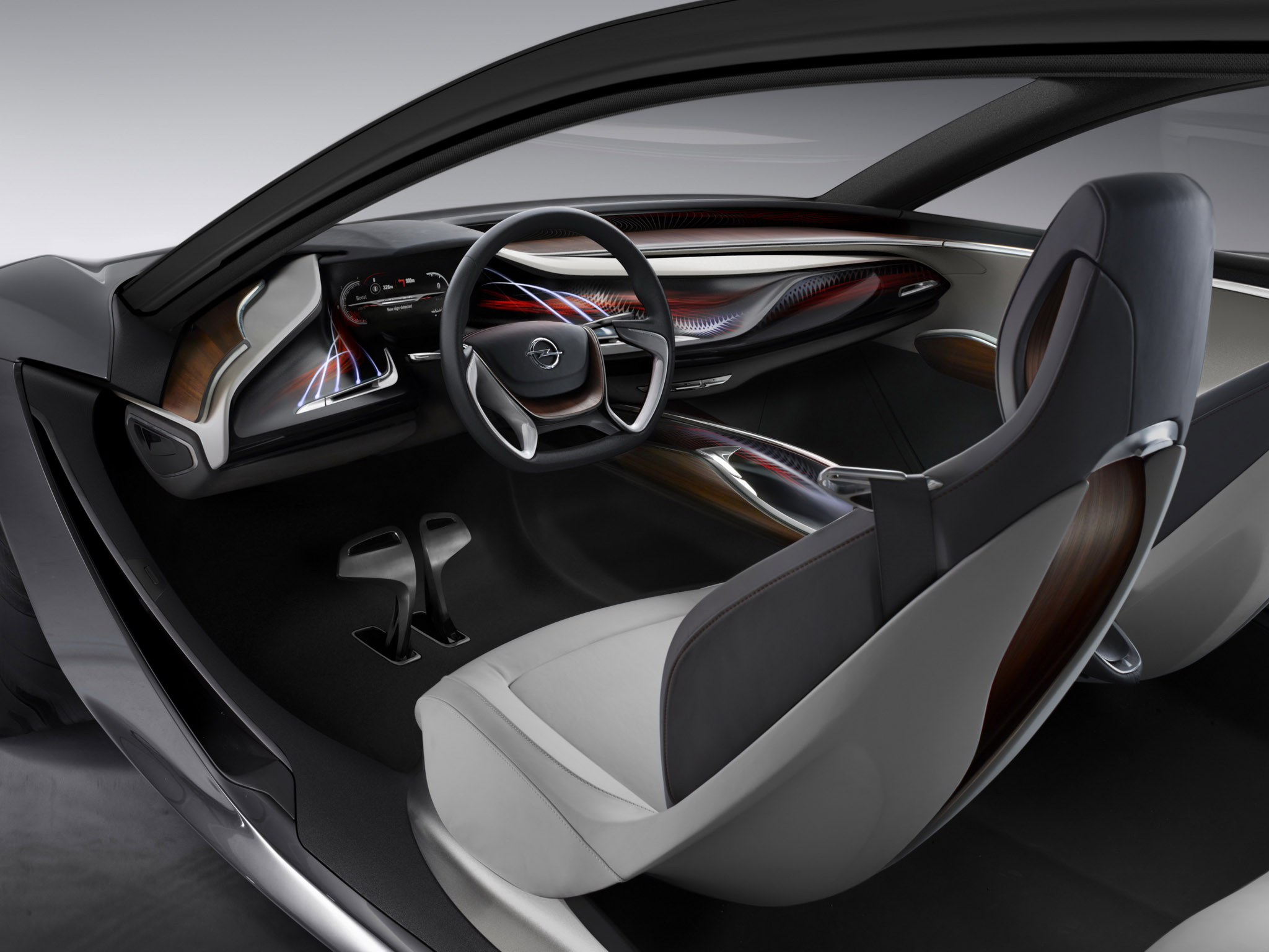 Opel Monza Concept Supercar Interior G Wallpaper
