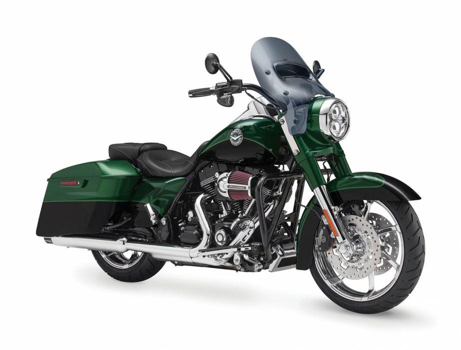 2014 Harley Davidson FLHRSE5 CVO Road King  d wallpaper