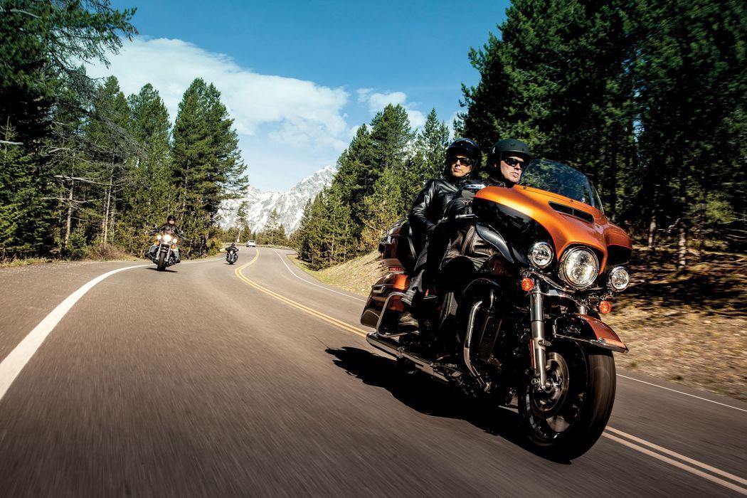 2014 Harley Davidson FLHTK Electra Glide Ultra Limited wallpaper