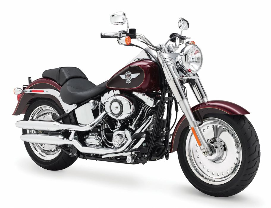 2014 Harley Davidson FLSTF Fat Boy   h wallpaper