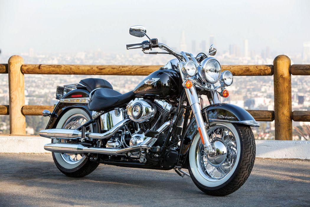 2014 Harley Davidson FLSTN Softail Deluxe wallpaper