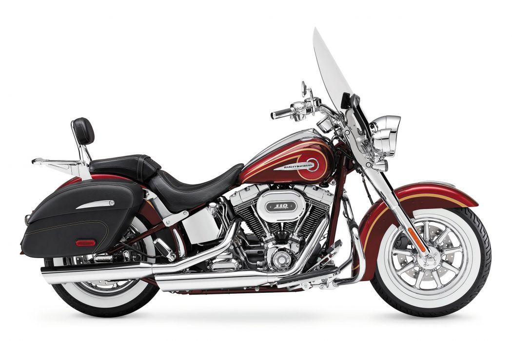 2014 Harley Davidson FLSTNSE CVO Softail Deluxe   g wallpaper