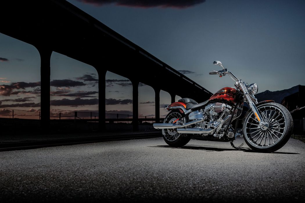 2014 Harley Davidson FXSBSE CVO Breakout engine    g wallpaper