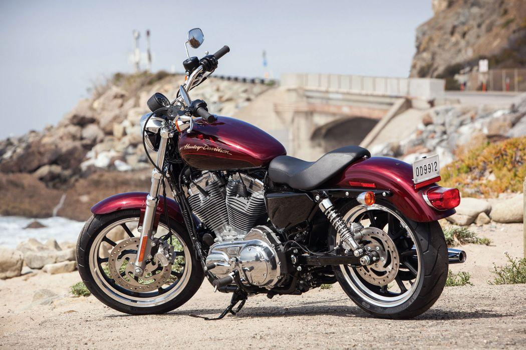 2014 Harley Davidson XL883L SuperLow wallpaper