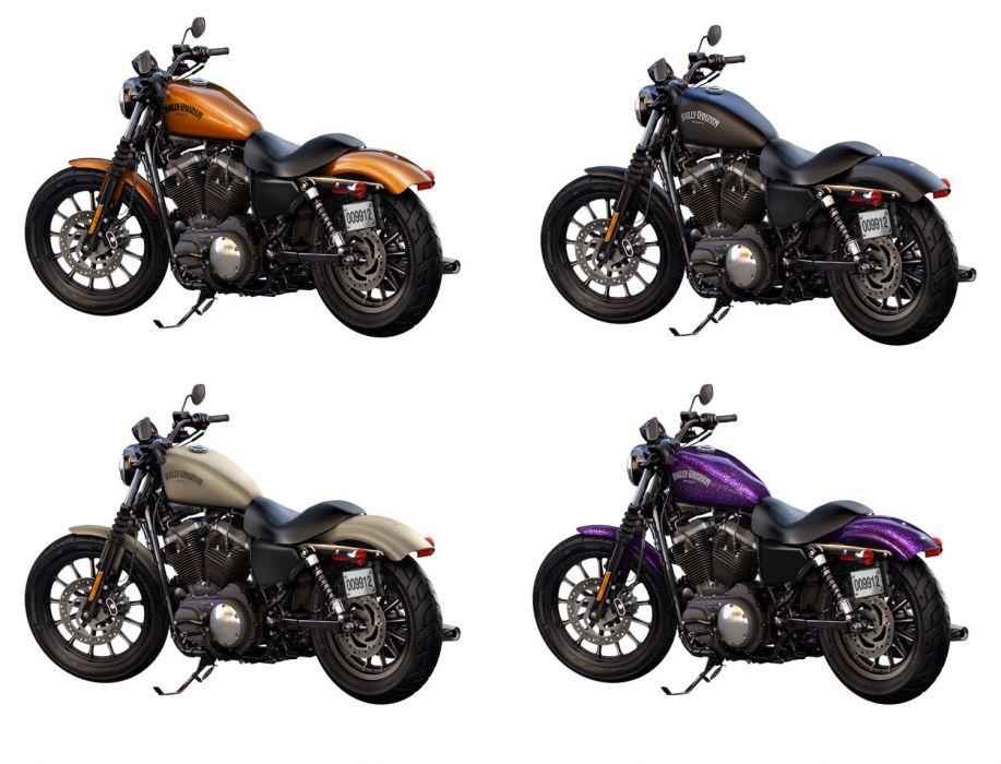 2014 Harley Davidson XL883N Iron 883 d wallpaper