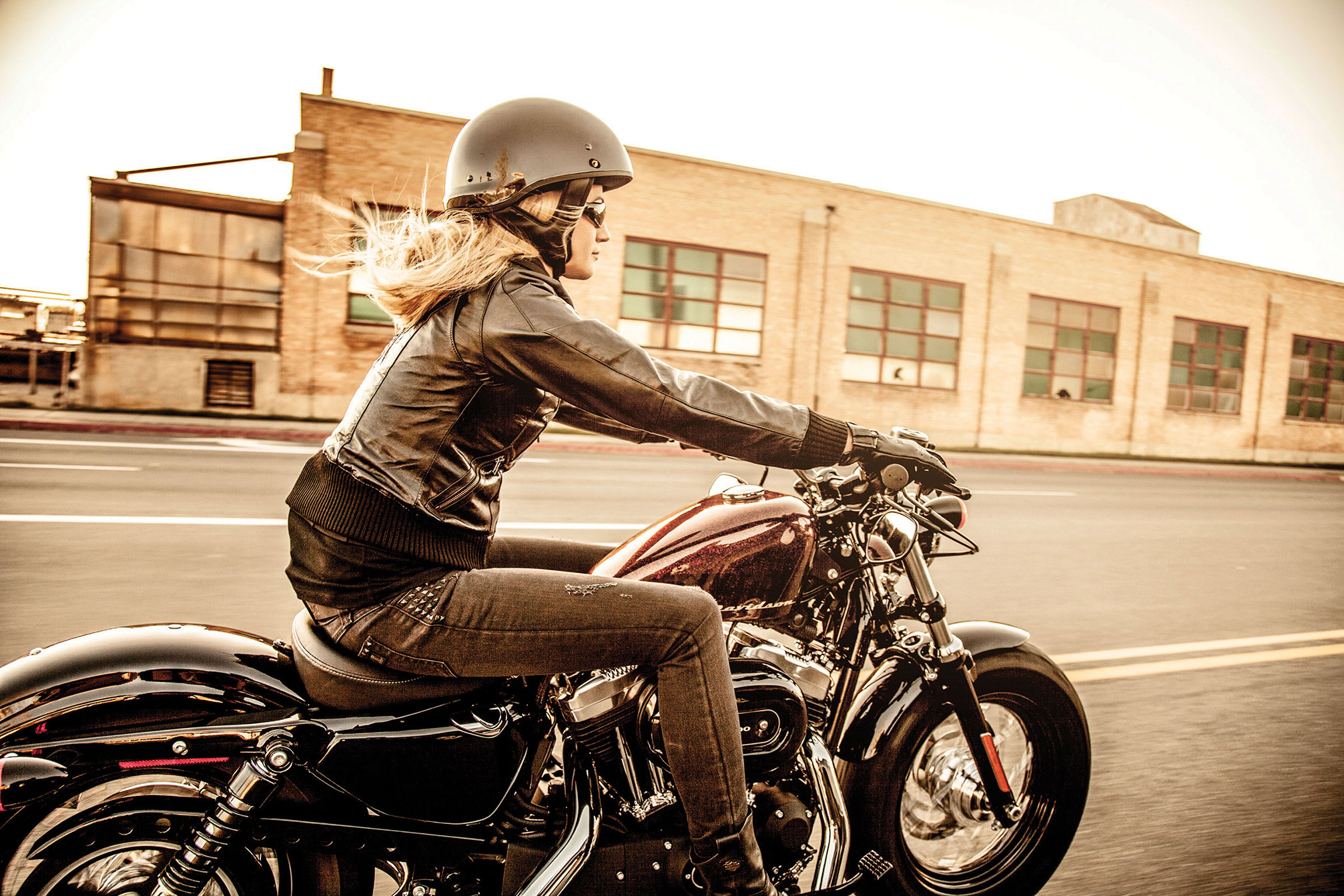 2014 Harley Davidson XL1200X Forty-Eight T Wallpaper