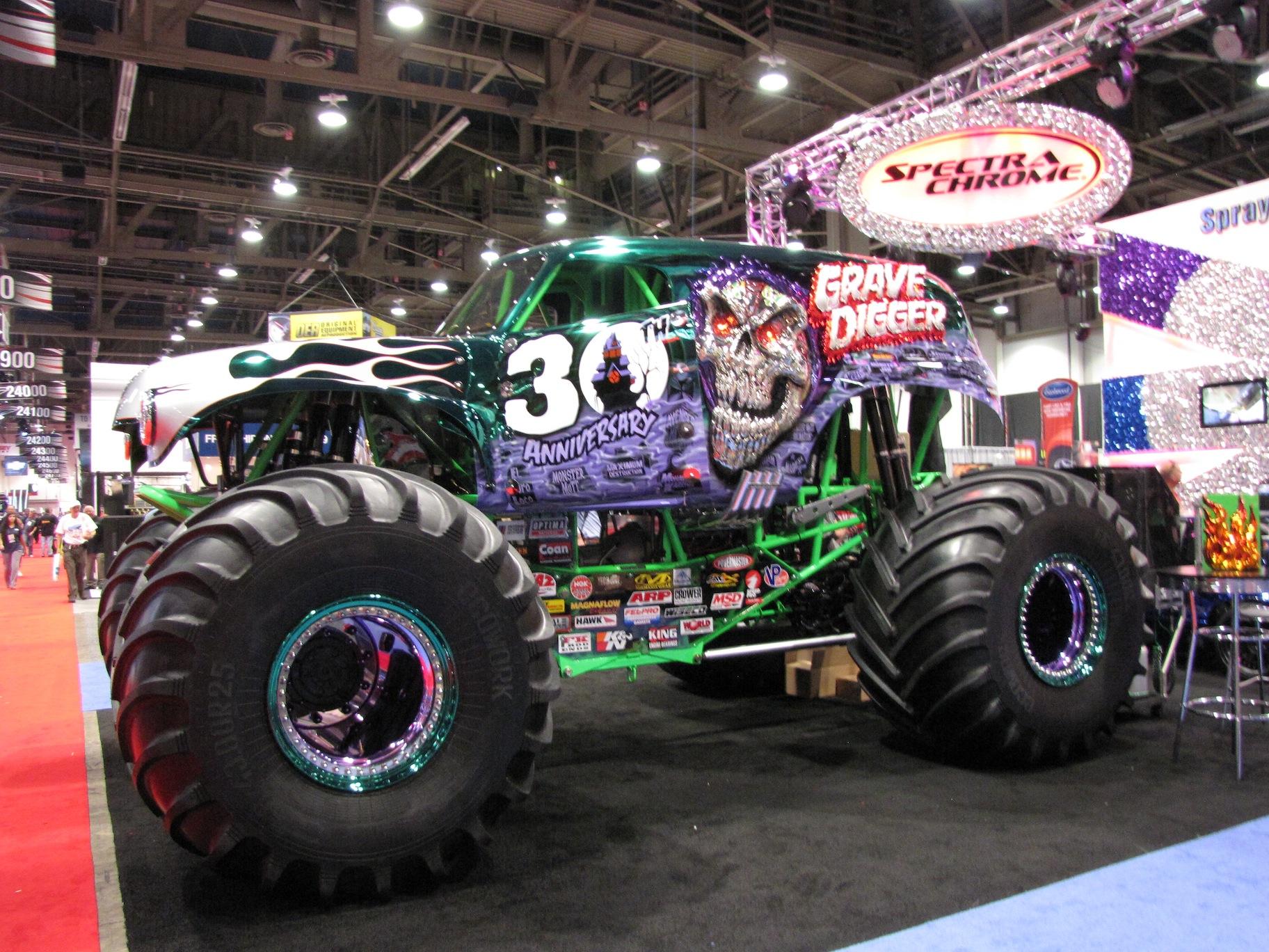 Monster Trucks Grave Digger 2014Rahasia Galeriku