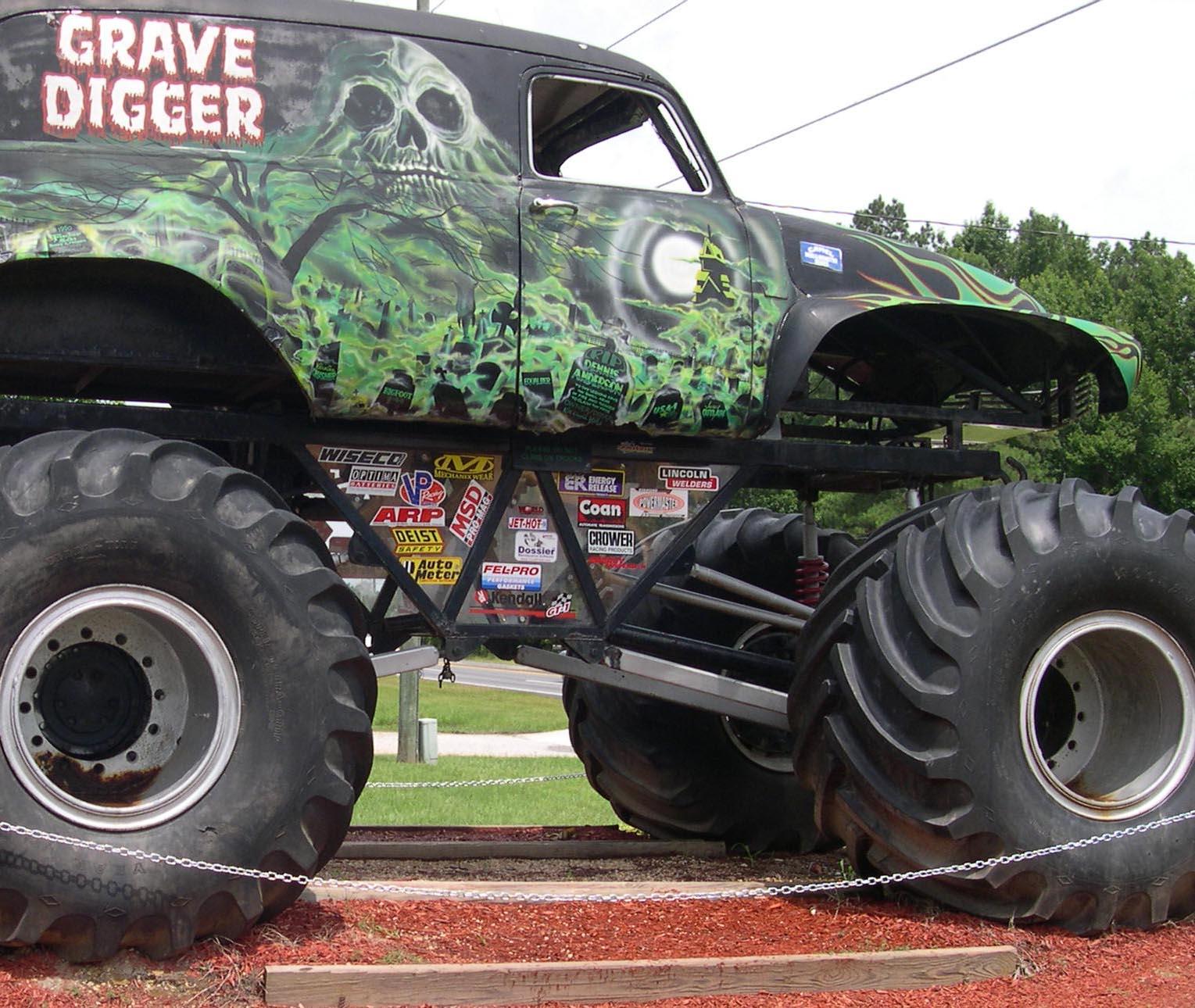 Grave Digger Monster Truck 4x4 Race Racing Monster Truck Hs