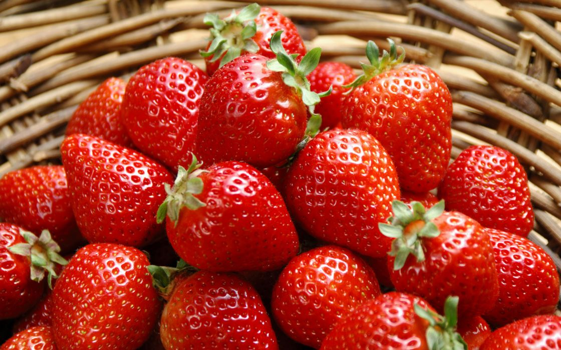 Fruit Strawberry Food wallpaper