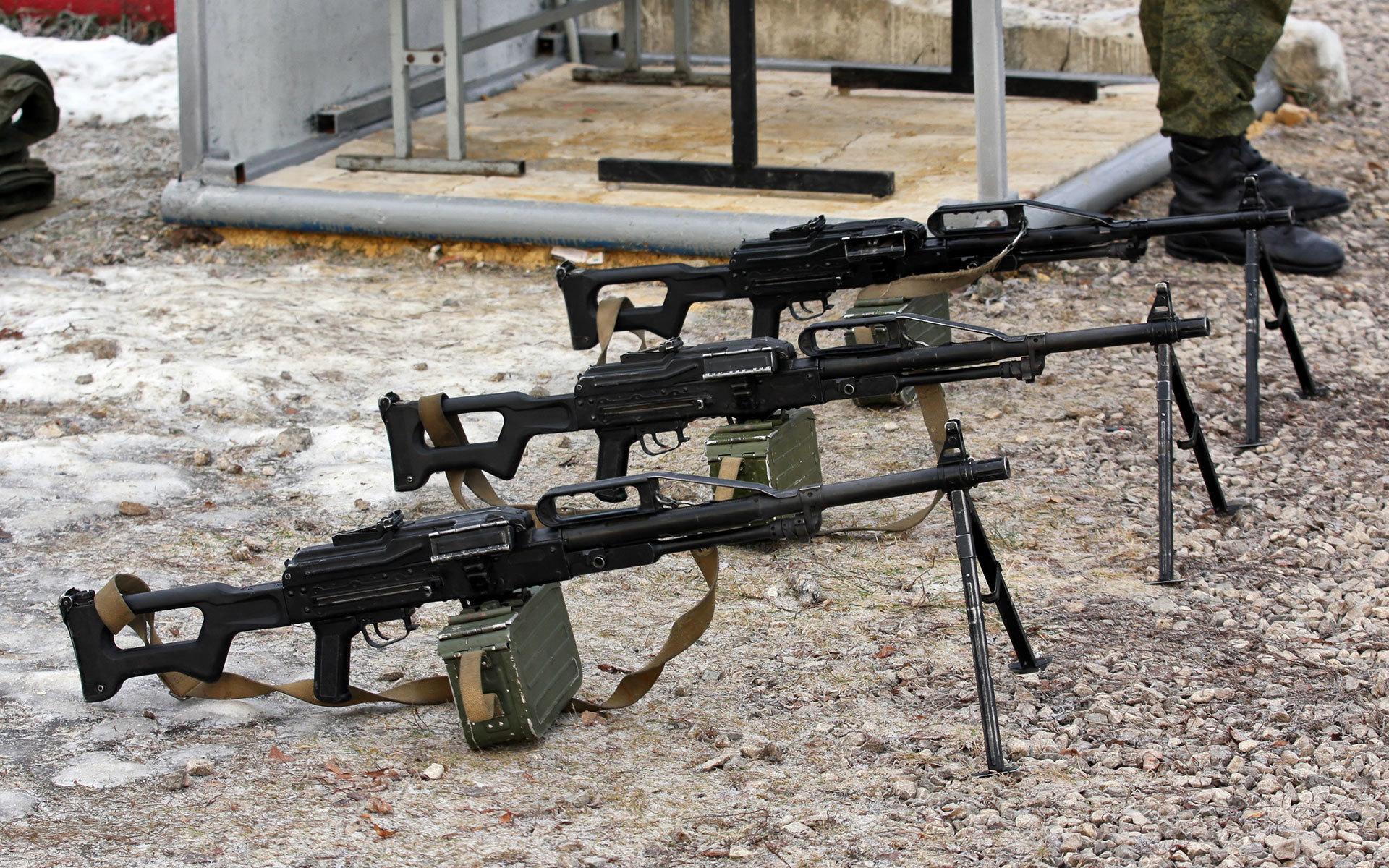 army machine gun