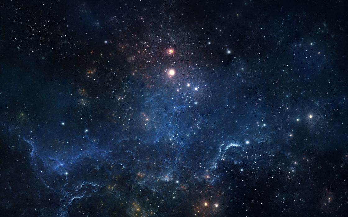 stars space nebula wallpaper