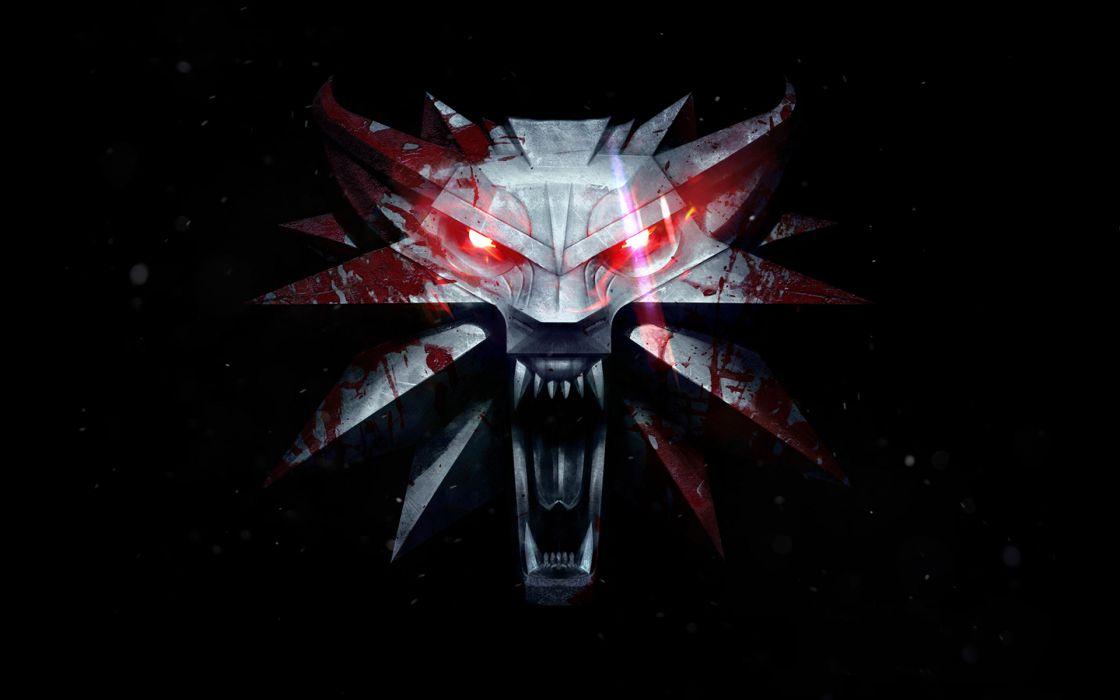 Witcher 3 Wild Hunt Wolves Games blood dark fantasy wallpaper