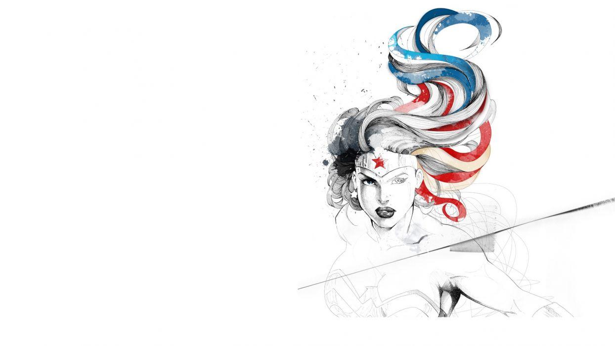DC-Comics Wonder Woman d-c superhero girl     gw wallpaper