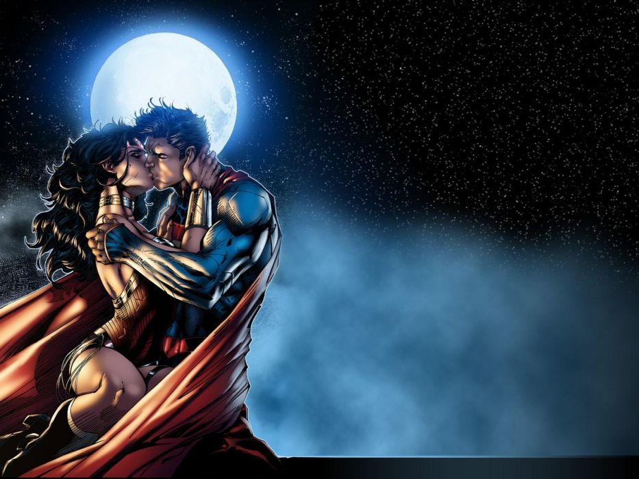 DC-Comics Wonder Woman d-c superhero girl superman wallpaper