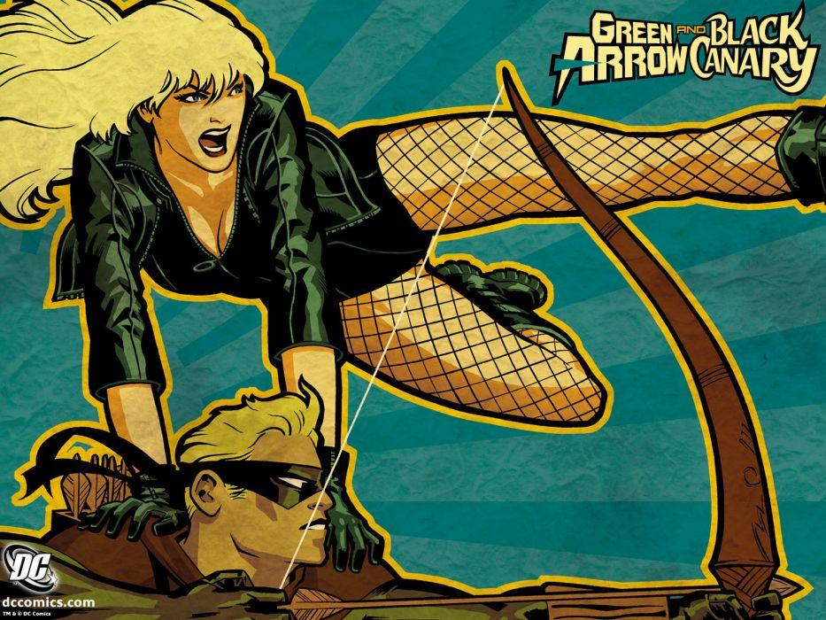 Black Canary Dc Comics D C Superhero Girl Green Arrow Wallpaper