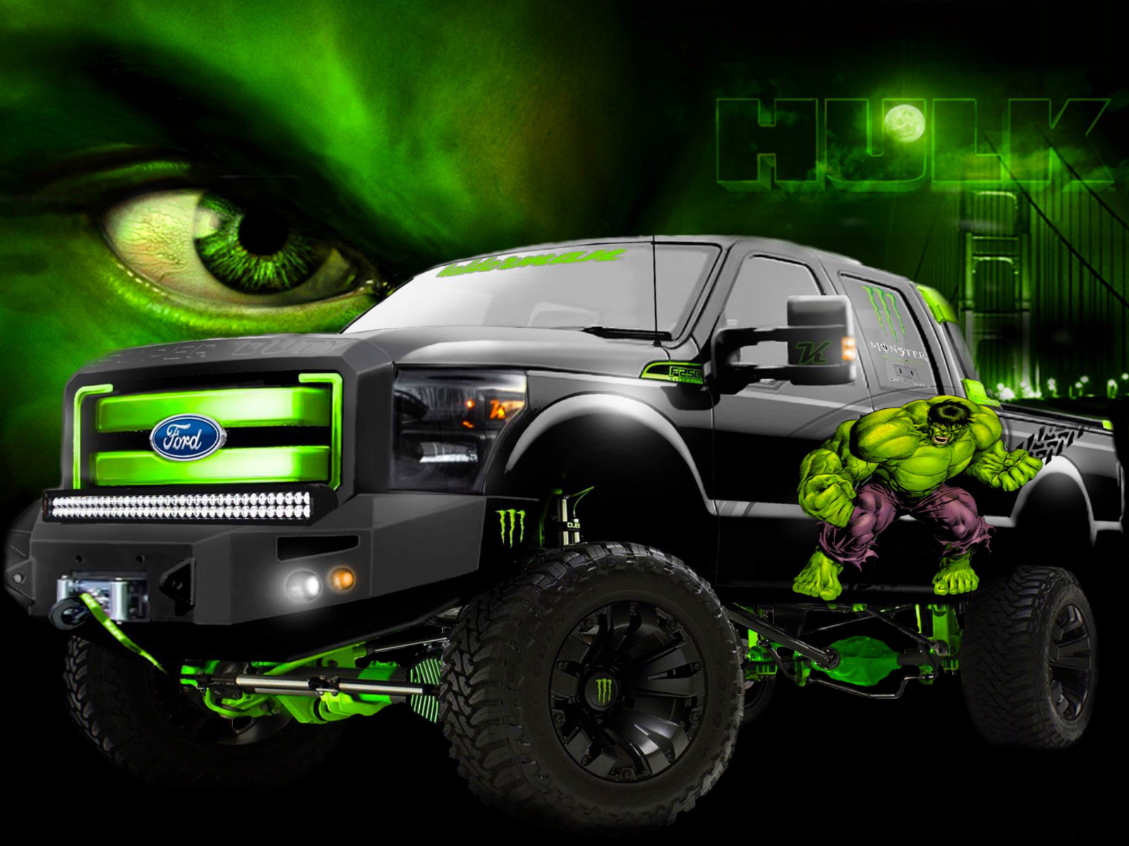 Vehicles monster hulk trucks wallpaper | 1600x1200 ...