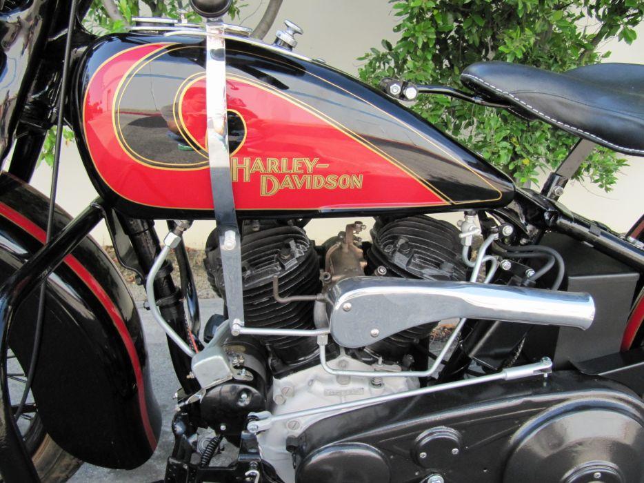 1931 Harley-Davidson V-L 7-4 engine       g_JPG wallpaper