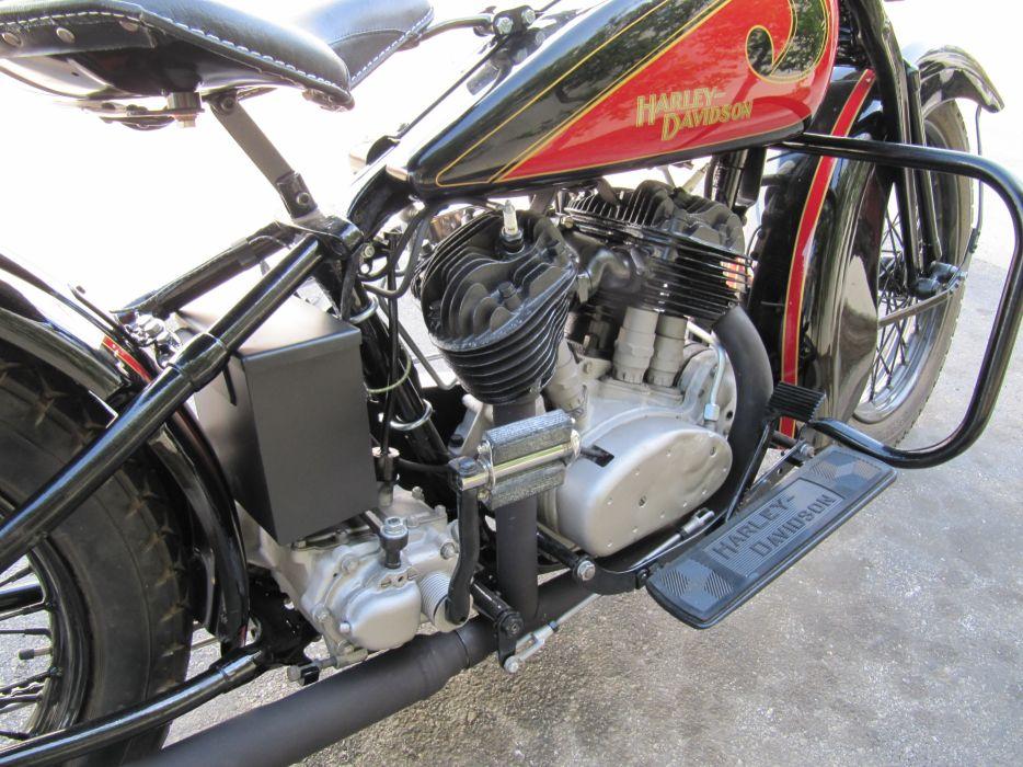 1931 Harley-Davidson V-L 7-4 engine_JPG wallpaper