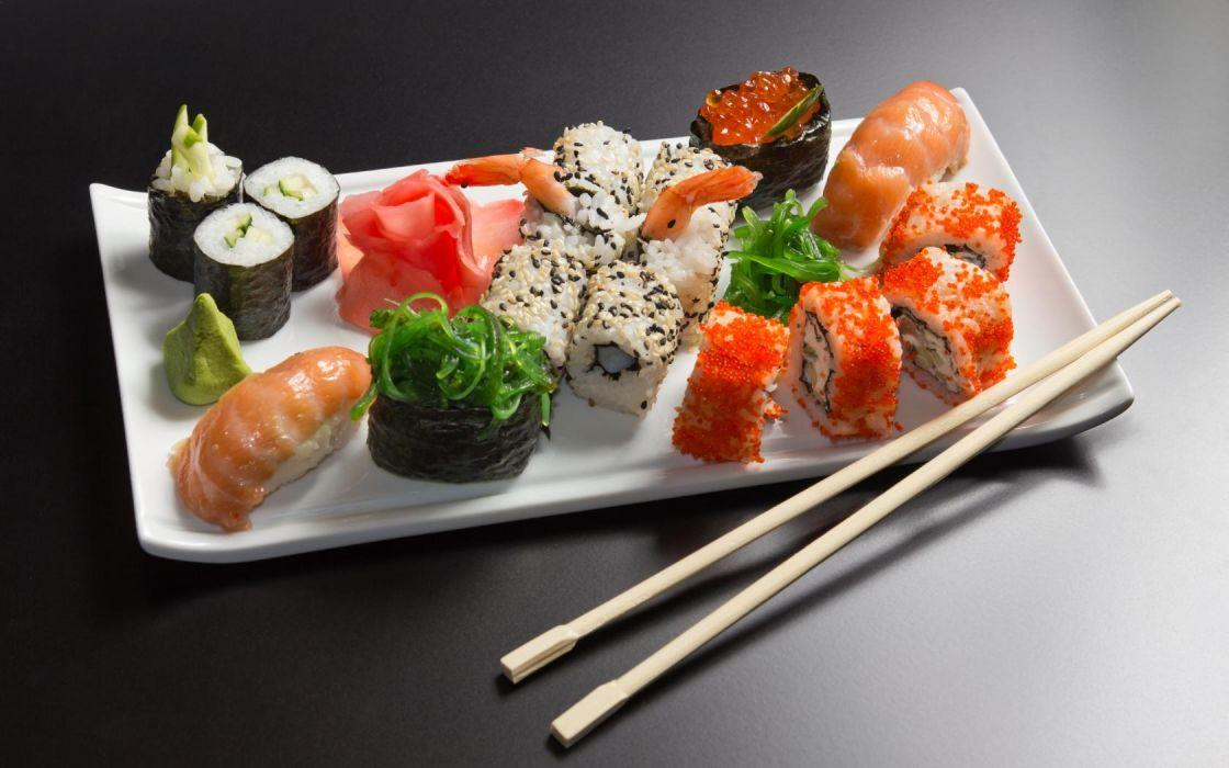 Sushi wallpaper