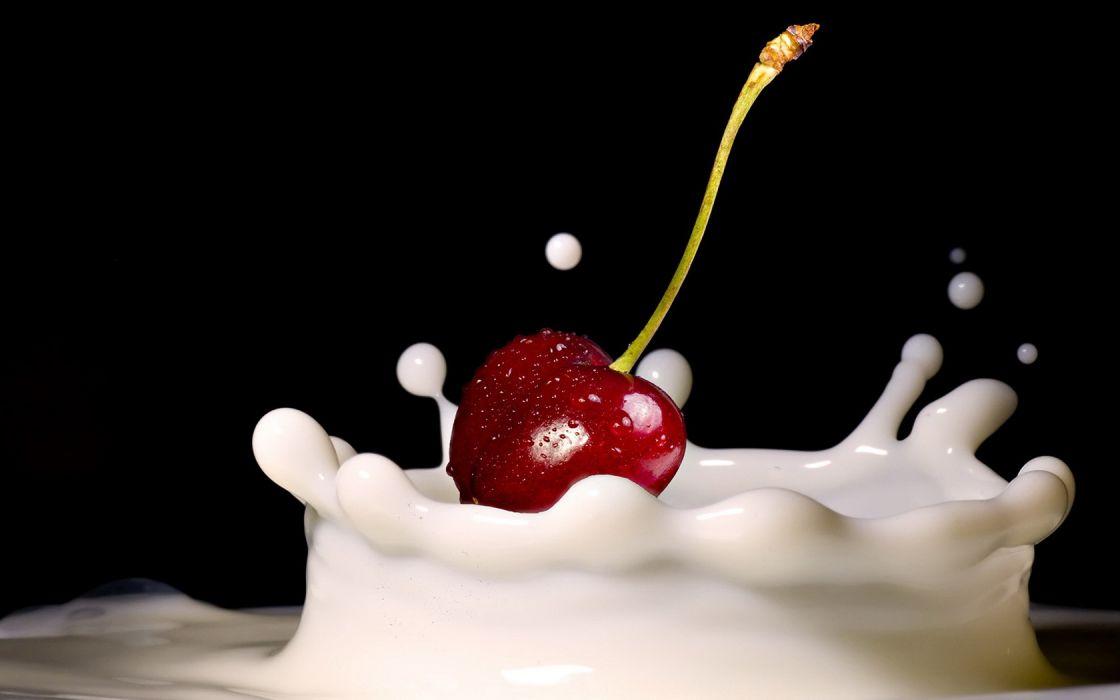 Milk Cherry wallpaper