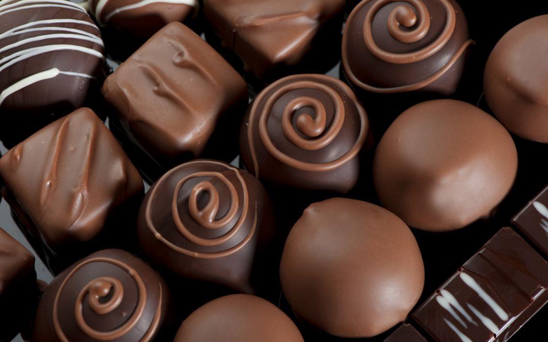 Chocolate Candies wallpaper