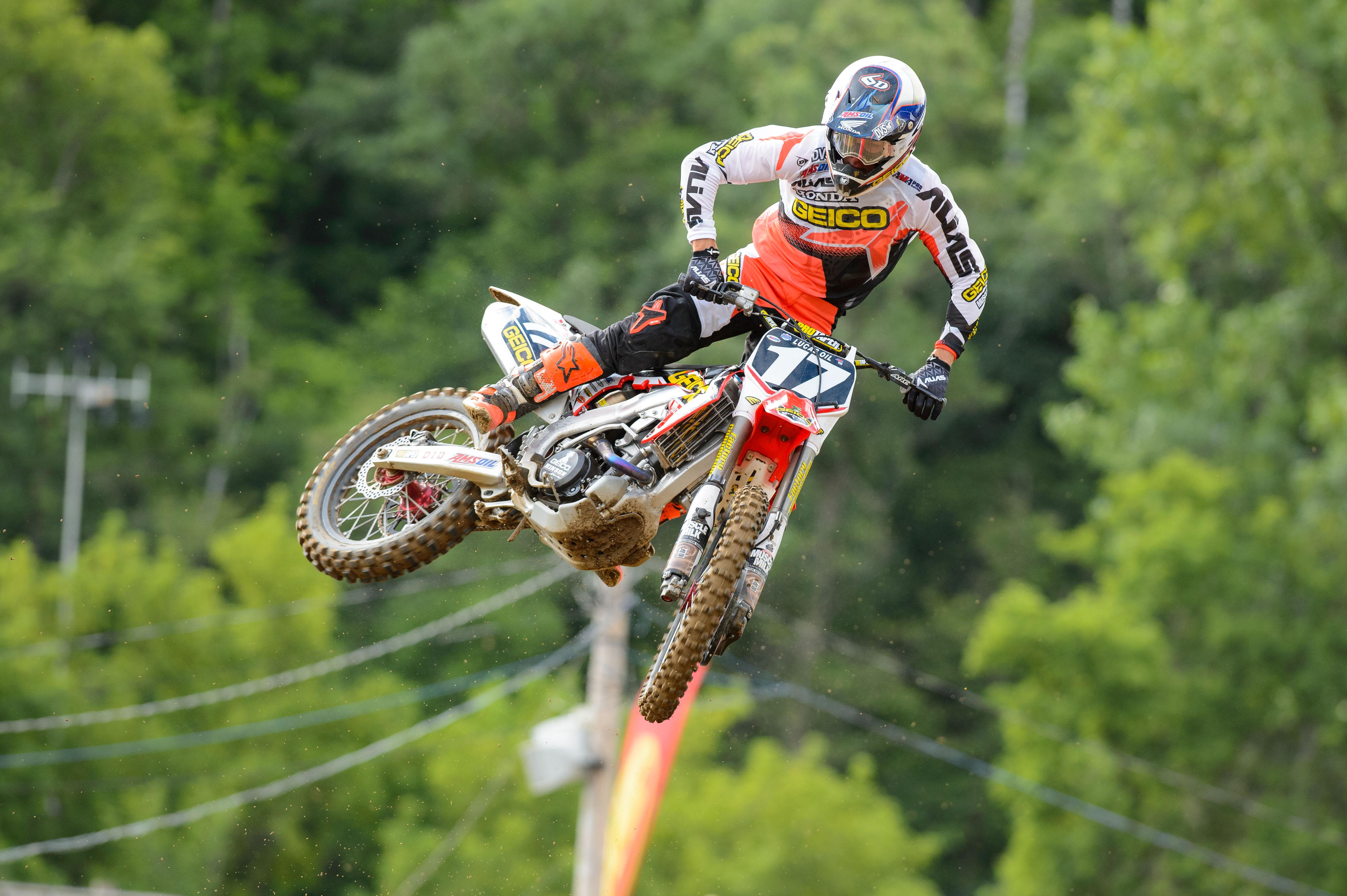 Dirtbike Moto Motocross Race Racing Motorbike Honda H