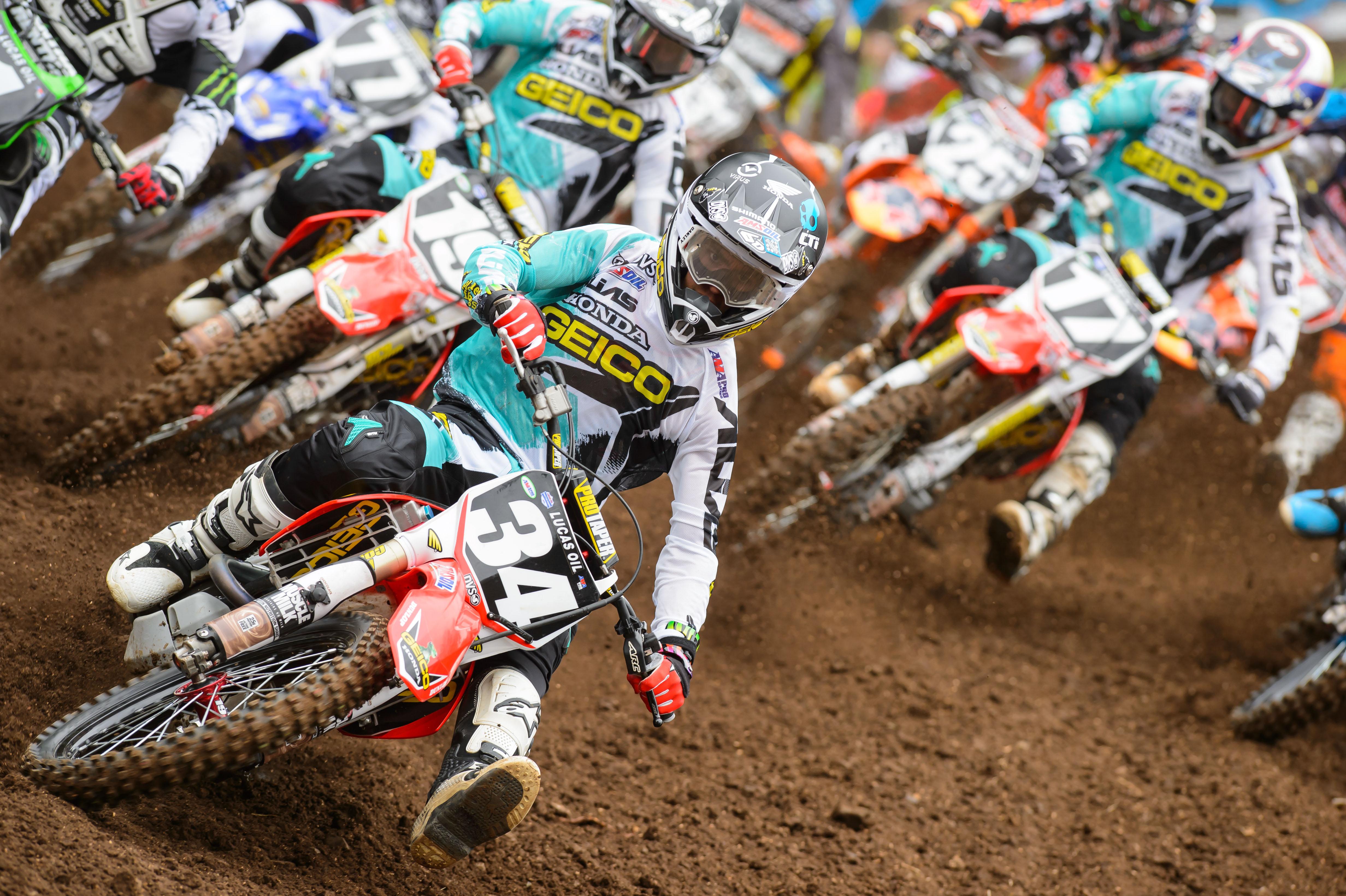 dirtbike moto motocross race racing motorbike honda ht wallpaper