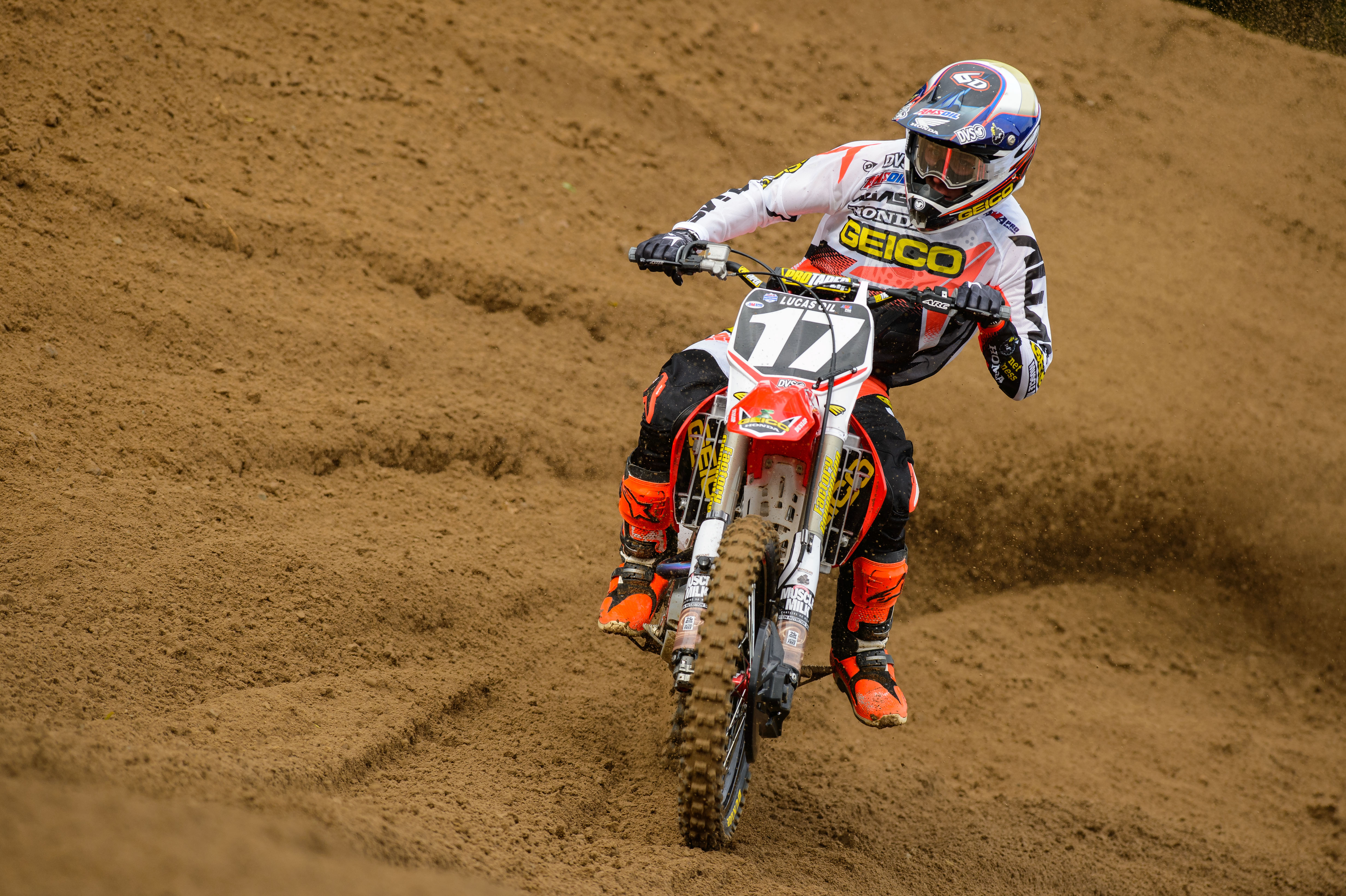 Dirtbike Moto Motocross Race Racing Motorbike Honda