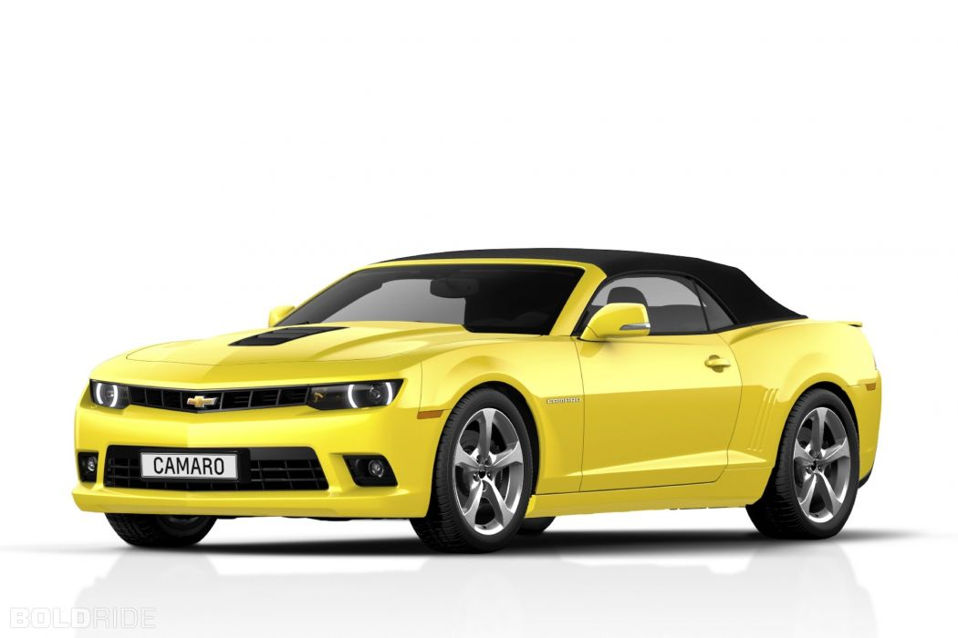 2014 Chevrolet Camaro Convertible muscle wallpaper