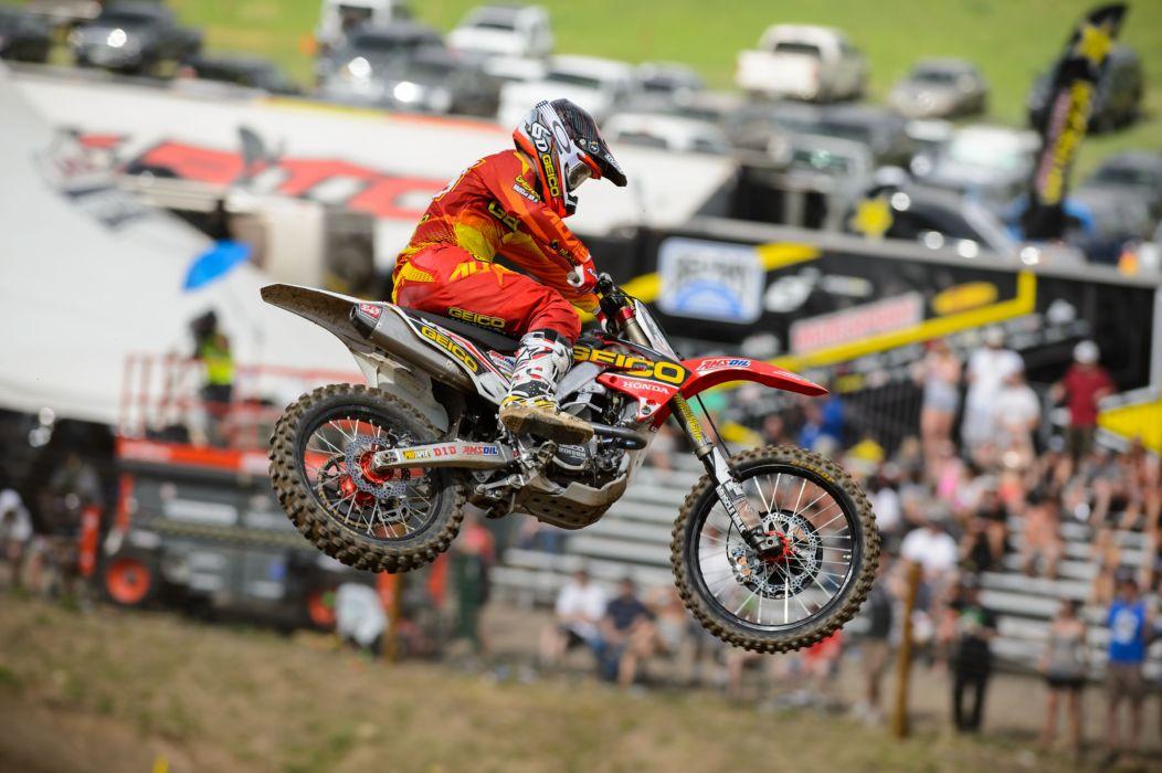 HONDA dirtbike moto motocross race racing   hq wallpaper